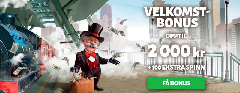 casinobonus hos billion casino