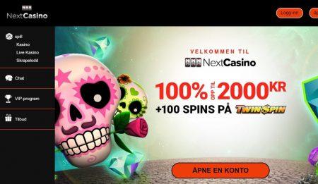omtale av next casino