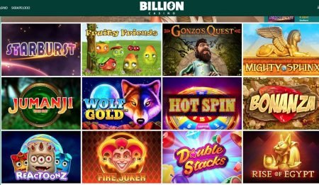 spillutvalg billion casino