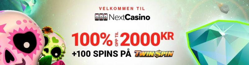 få en fet casino bonus hos nextcasino