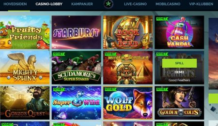 wixstars casino lobby