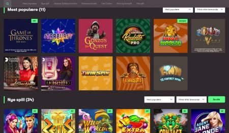 Games 10Bet Casino Casino Topplisten