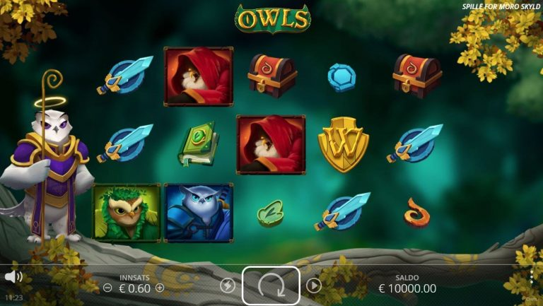 Owls casinotopplisten