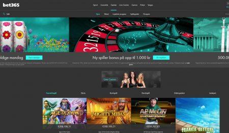 bet365 casino omtale