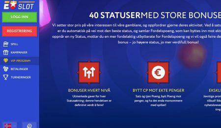 euslot casino vip program