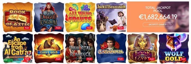 loki casino spill og jackpot