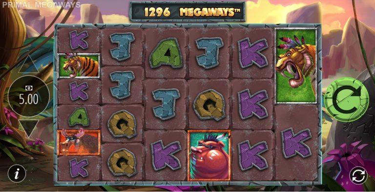 Primal Megaways casinotopplisten