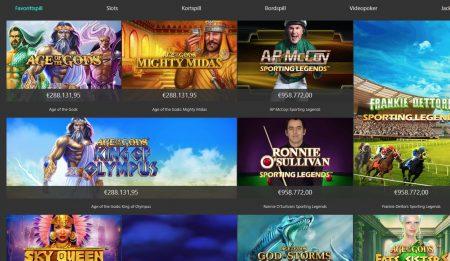 spillutvalg hos bet365 casino