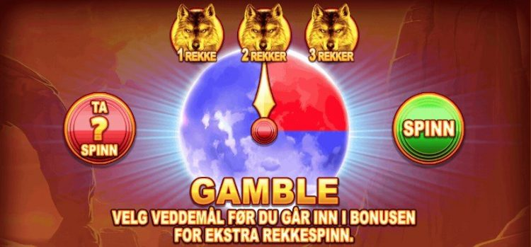 wolf legend megaways gamble