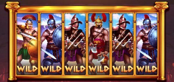gladiators go wild isoftbet