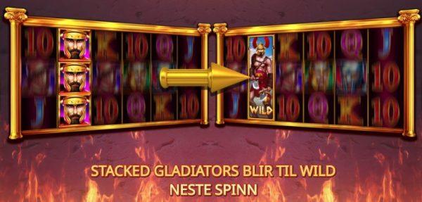 gladiators go wild spilleautomat