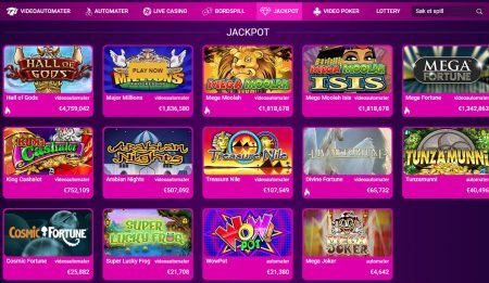jackpotspill hos nobonus casino