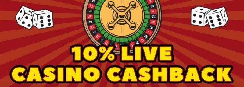 live casino cashback rizk