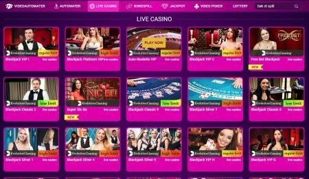 live casino hos nobonuscasino