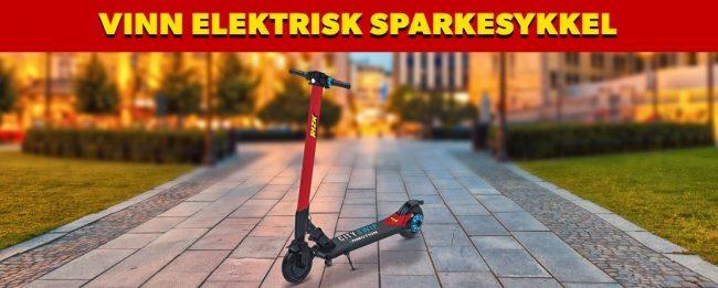 vinn elektrisk scooter hos rizk