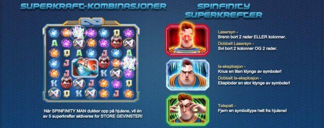 spinfinity man betsoft spilleautomat spill gratis