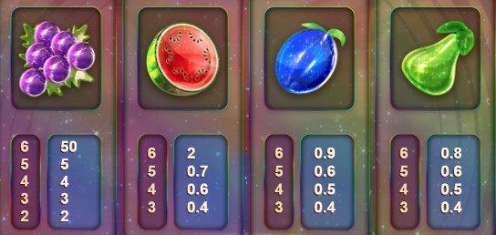 symboler i opal fruits