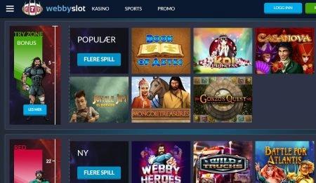 webby slot casino spilleautomater og spill