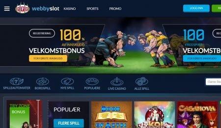 webbyslot casino omtale