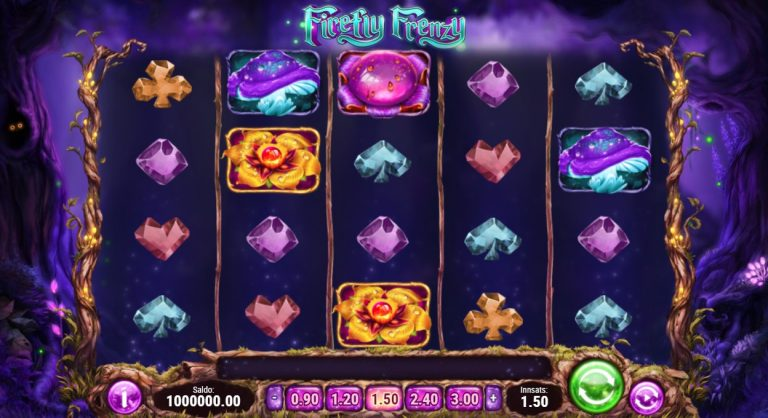 Firefly Frenzy casinotopplisten