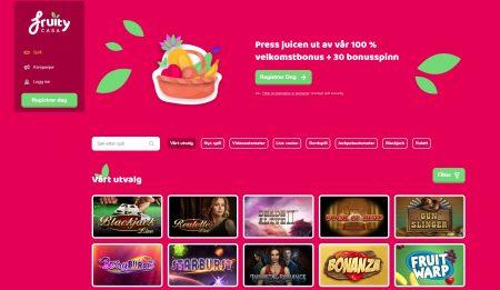 fruity casa omtale casinotopplisten