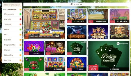 jackpoter hos mango casino