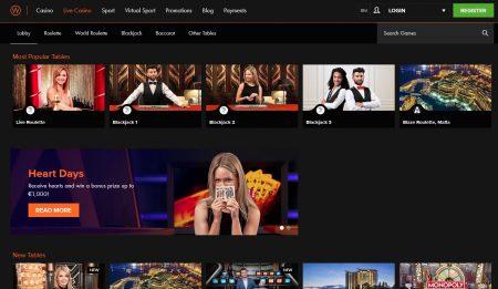 live casino hos casinowinner