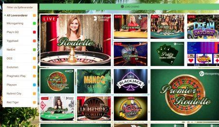mangocasino live casino