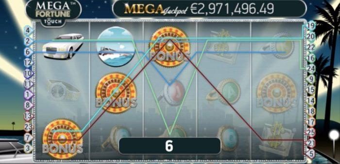 mega fortune jackpot hos casumo casino