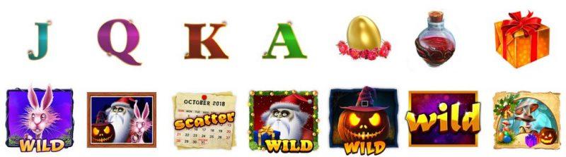 season greetings gig games symboler