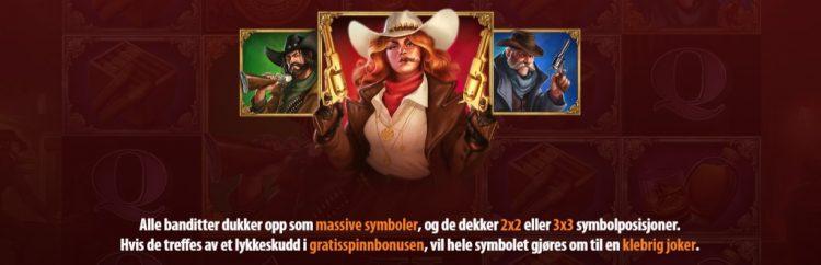 sticky bandits wild return spilleautomat fra quickspin spill gratis her