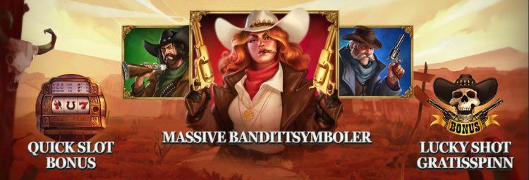 sticky bandits wild return spilleautomat funksjoner