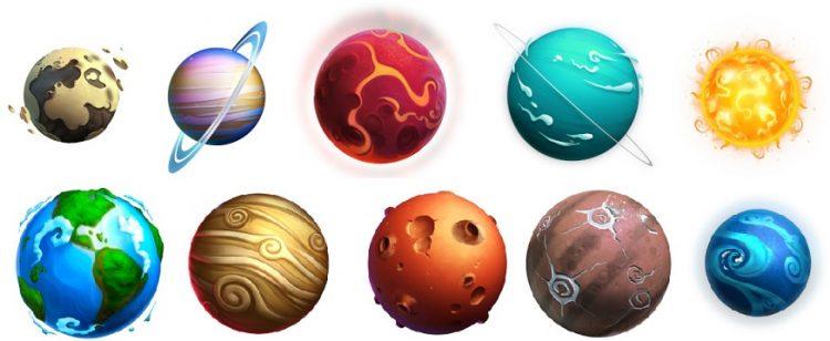 symboler i meganova fra gig games
