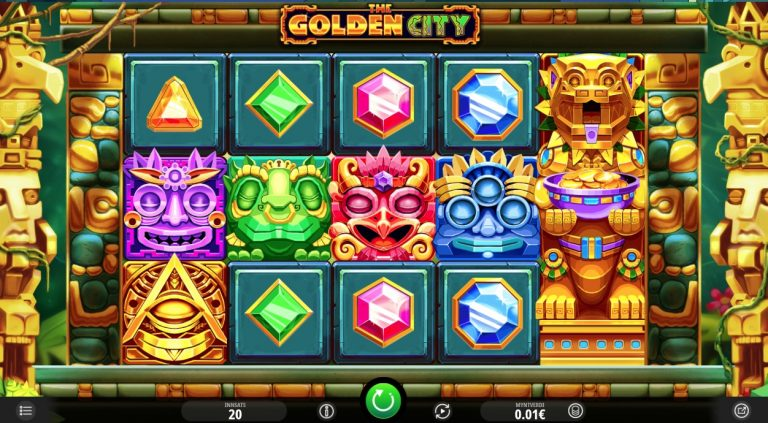 The Golden City casinotopplisten