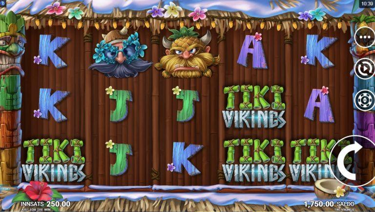 Tiki Vikings casinotopplisten