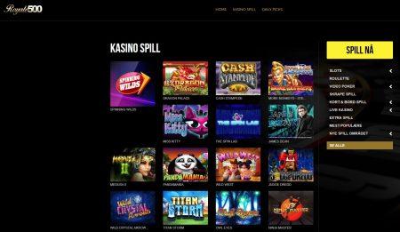spillutvalget hos casino royale 500