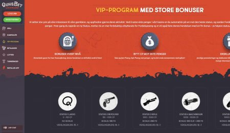 gunsbet casino vip program