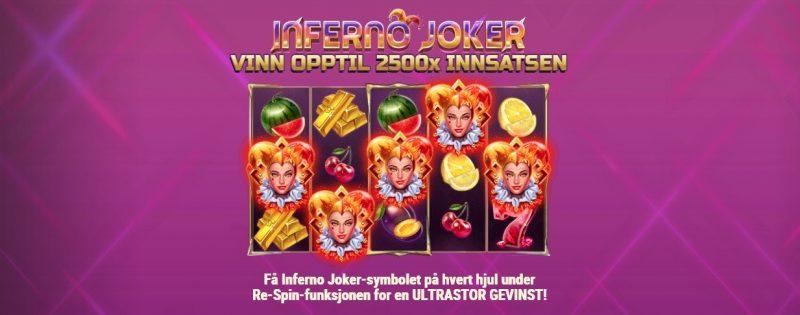 funksjoner i inferno joker spilleautomat