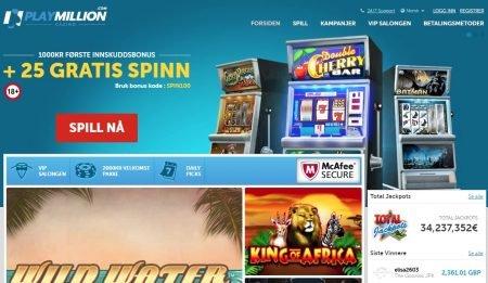 playmillion casino omtale