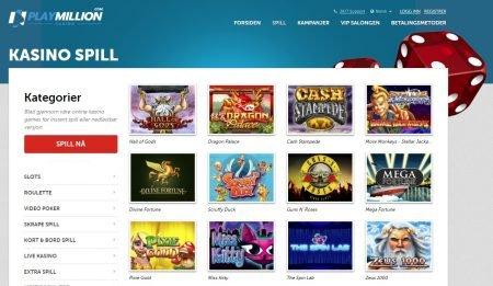 playmillion casino spillutvalg