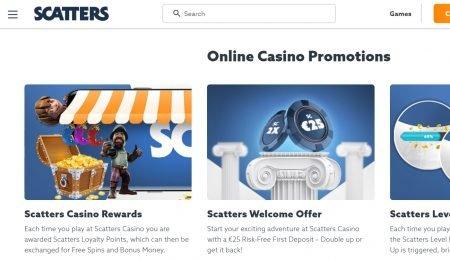 scatters casino kampanjer