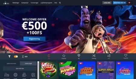 skjermbilde av ilucki casino