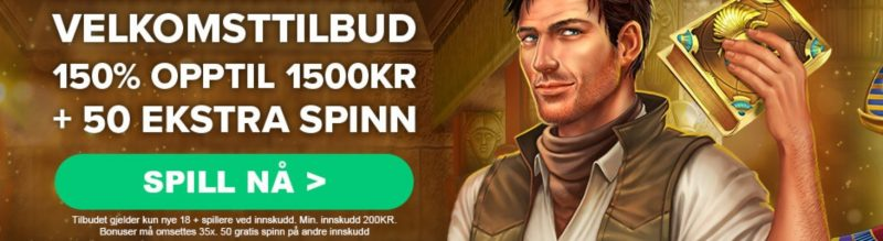 velkomstbonus hos greenplay casino