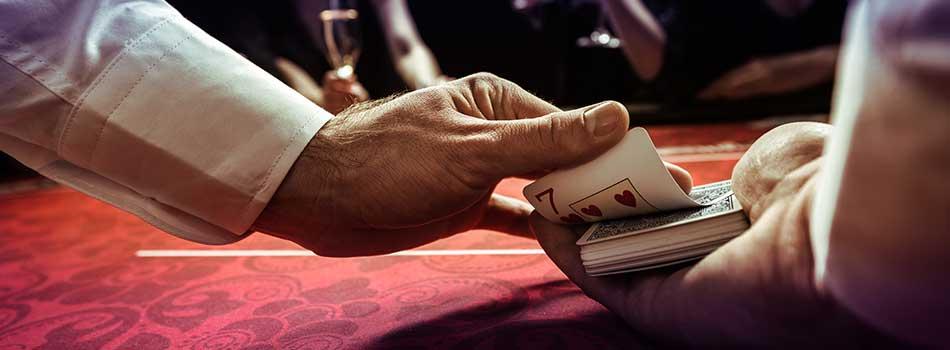 er blackjack på online casino rigget?
