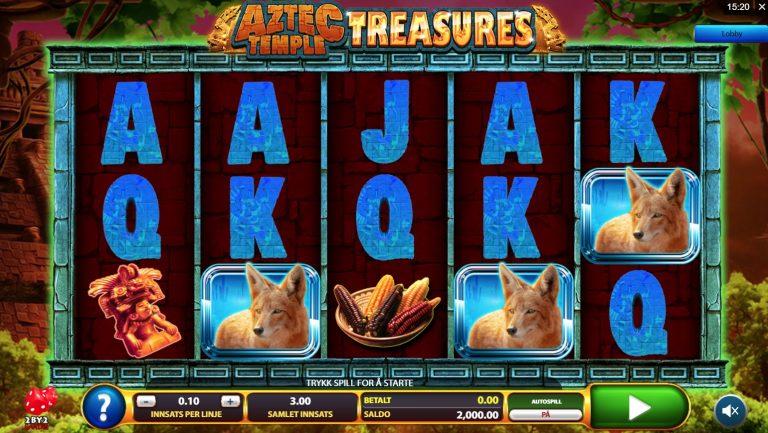 Aztec Temple Treasures casinotopplisten