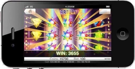 Casino på mobil