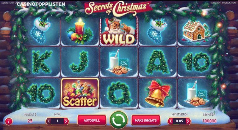 secrets of christmas spilleautomat