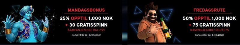bonuser hos n1 casino
