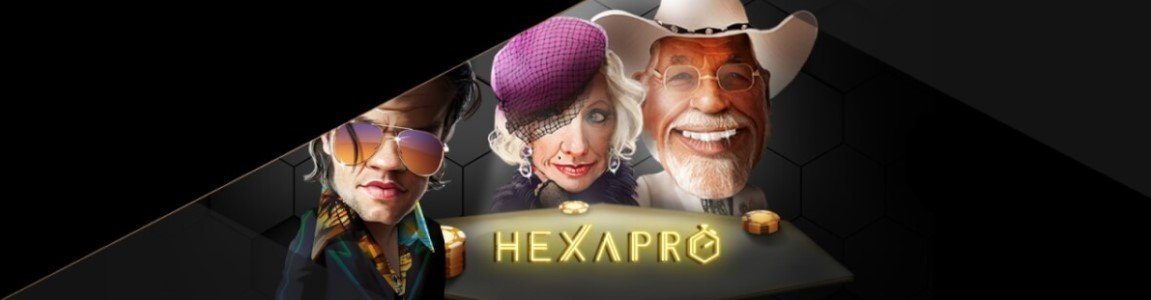 hexapro poker hos storspiller casino