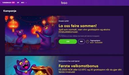 kampanjer bao casino